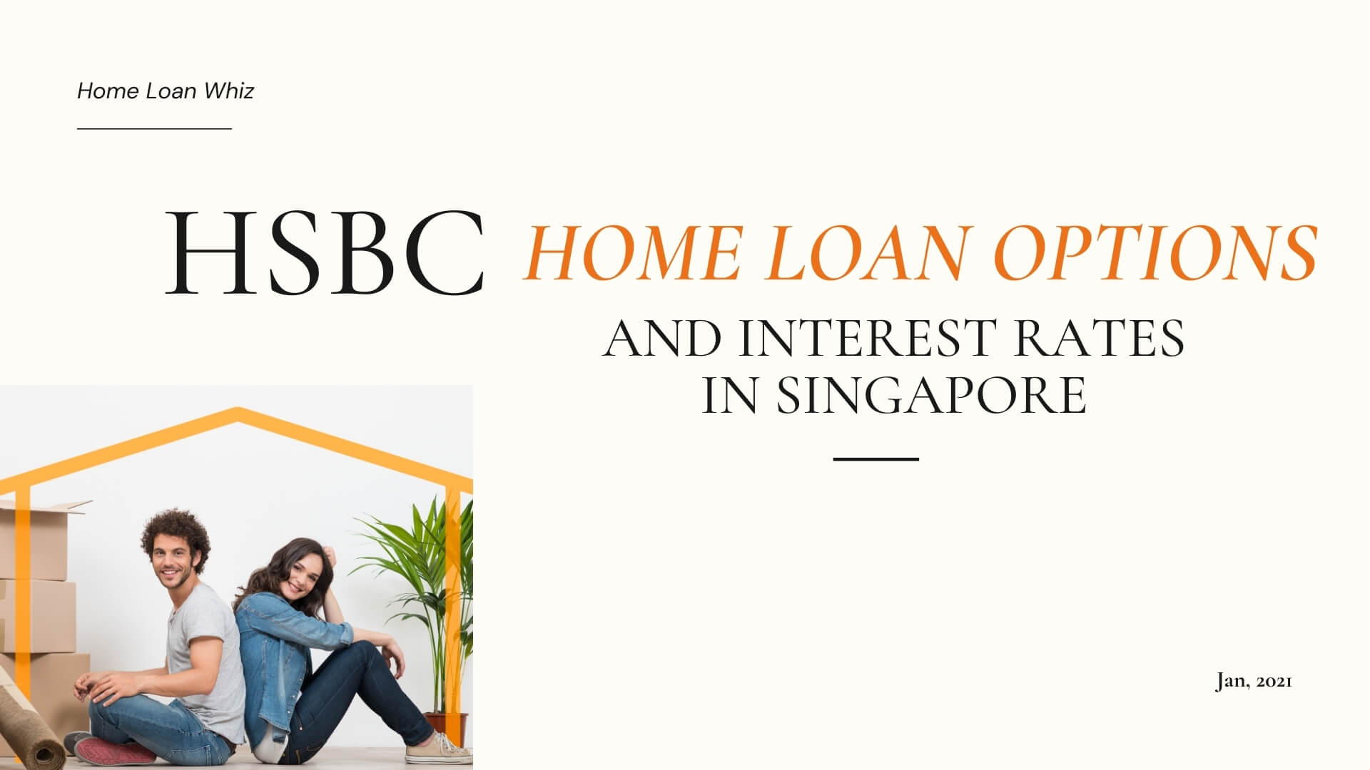 HSBC Home Loan Options and Interest Rates in Singapore